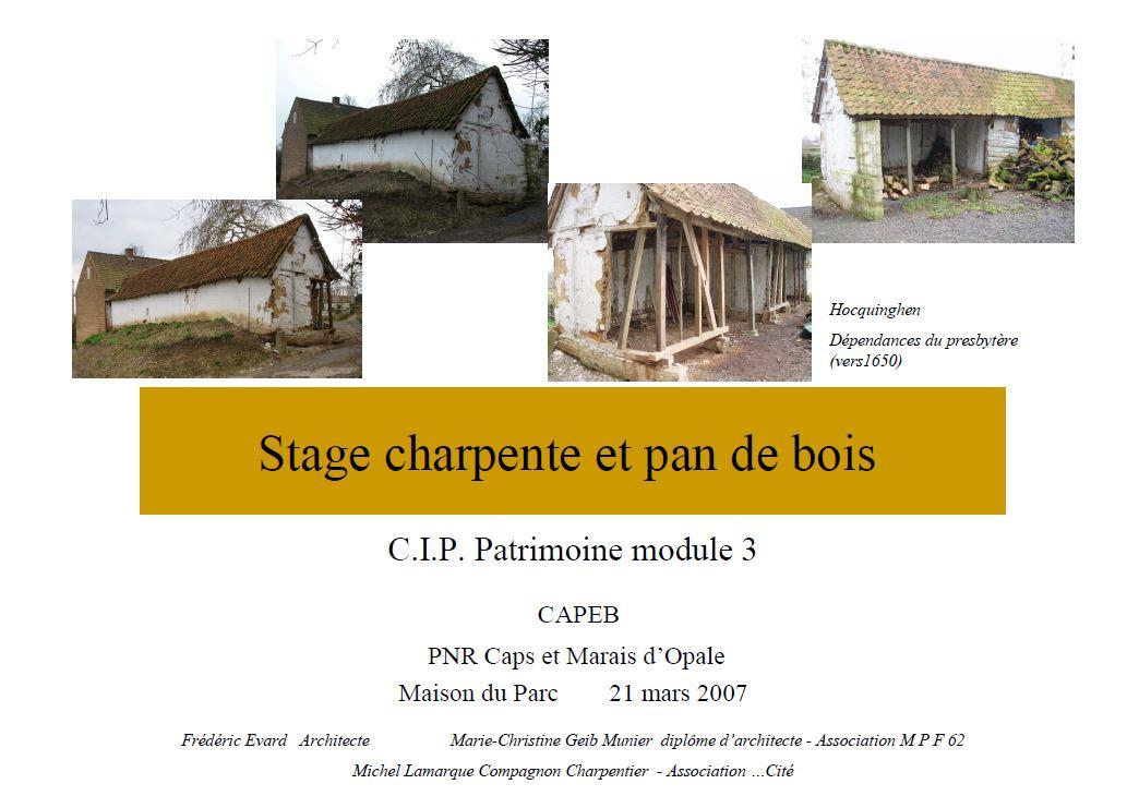 stage-charpente-et-pan-de-bois